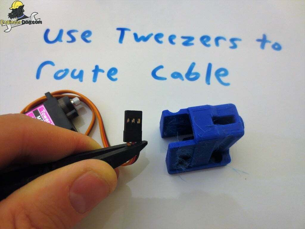 IMG_7488.JPG Download free STL file Pivoting Servo Joint Module *Tiny_CNC_Collection • 3D printing model, mechengineermike