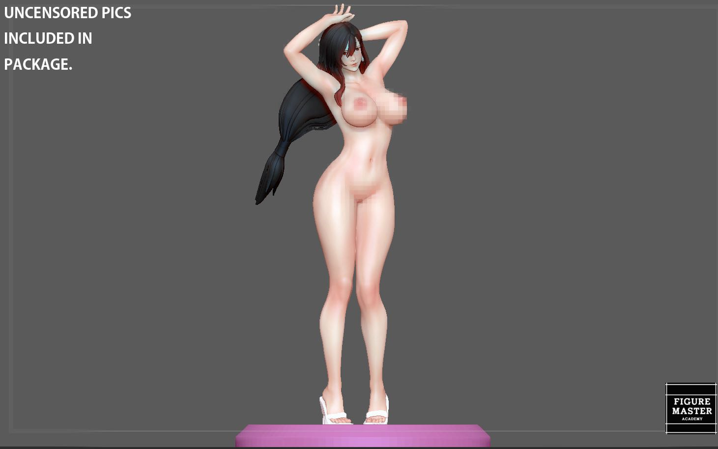 21.jpg Télécharger fichier STL TIFA SEXY NAUGHTY NAKED HENTAI VERSION FINAL FANTASY CHARACTER ANIME STATUE 3D MODEL • Objet pour impression 3D, figuremasteracademy