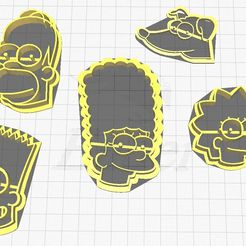 WhatsApp-Image-2021-07-02-at-14.10.11.jpeg Download free STL file the simpsons cookie cutter • Template to 3D print, joaquinserruya