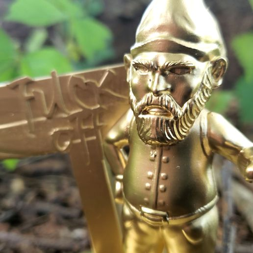 Knome_2.jpg Download STL file Stylus Gnome Holder • Object to 3D print, PrintThatThing