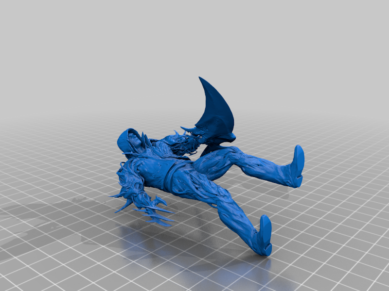 AlexBossPosed10.png Download free STL file Alex Mercer Prototype Boss • 3D printable template, CharlieVet
