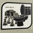 StarWars_-_ATAT_drinks_in_the_toilet_bowl_2019-May-16_10-09-07PM-000_CustomizedView8706840162.png Download free STL file StarWars - ATAT drinks in the toilet bowl - NO • 3D printer object, yb__magiic