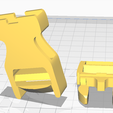 Image_4.png Download STL file Clip (Medium). Male and female parts. • 3D printer object, ludovic_gauthier