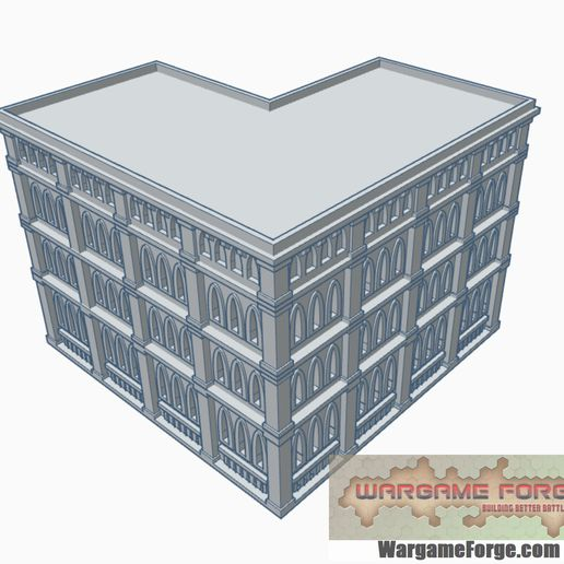 G78B.jpg Download STL file Gothic Epic Building 78 • Object to 3D print, WargameForge