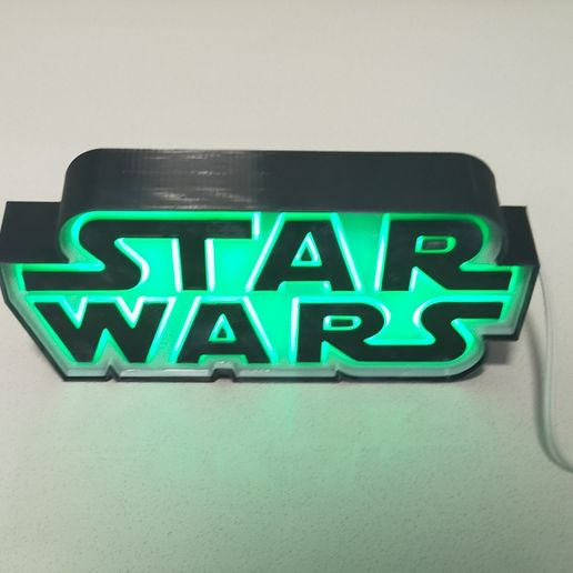 IMG_20201210_184516.jpg Download STL file ILLUMINATED SIGN STARWARS • Model to 3D print, librexviii
