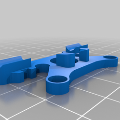 AMAX_5P_crossfire_Antenna_Mount.png Download free STL file AMAX f5 und f5L - Crossfire Antenna Mount • Design to 3D print, Bullseye