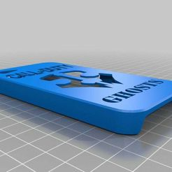 fantastic_snaget.jpg Download free STL file Iphone 4 case COD Ghost • Template to 3D print, NeoTech76