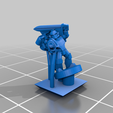 PlateArmourTroop_Jet_SGT_A.png Download free STL file Galactic Crusaders - Plate Armour Troop - 6-8mm • 3D printer template, MoonJammy