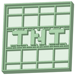 TNT.png Download STL file TNT Minecraft cookie cutter • 3D print model, osval74