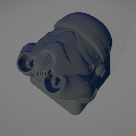 3.png Download STL file Keycap Stormtrooper • 3D printing object, 1340Factory