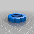 Blaster_cabinet_fitting_-_Adjuster_retaining_ring.png Download free STL file Vacuum fitting for Clarke sand blasting cabinet • Model to 3D print, Steve_rLab