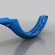 Rear_Fender_for_replacement_hook_-_high_quality_.png Download free STL file Reemplazo del guardabarros trasero reforzado para el scooter eléctrico Xiaomi M365 • Object to 3D print, kektus