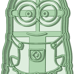 1_e.png Download STL file Minion cookie cutter • Object to 3D print, osval74
