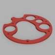 Flasque V1 35mm.png Download free STL file Draeger Ray to CCR KISS conversion with Arduino • Object to 3D print, DaGoN