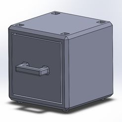 Drawer.PNG Download free STL file Stackable Drawers • Template to 3D print, JonC55