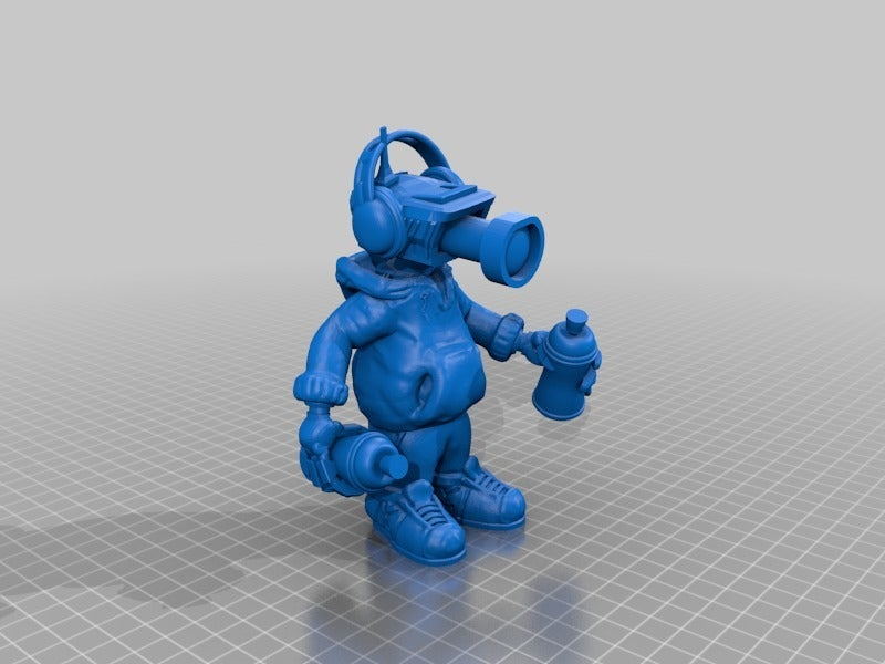 feffe842928607641ad9a7deeb38ac1b.png Download free STL file CCTV Punk by Mehdals • Model to 3D print, Mehdals