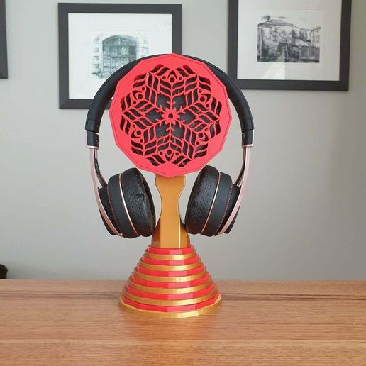 20210319_124414.jpg Download free STL file Echo Dot Headphone Stand (2 designs) • Object to 3D print, 3DPrintBunny