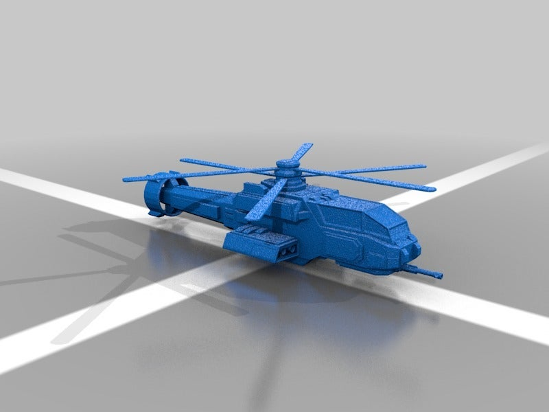 f6e682458c38a158780bd8ae743746d1.png Download free STL file Battletechnology Warrior H8 Helicopter • 3D printable template, kiwicolourstudio