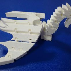 DSC_3721.JPG Download free STL file Low wing for Flexi-Dragon • 3D printing design, hsiehty