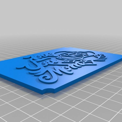 7191ee92561ebefdc14568b9fa6ef8fc.png Download free STL file Love You Mom Plaque • 3D printing template, Anubis_