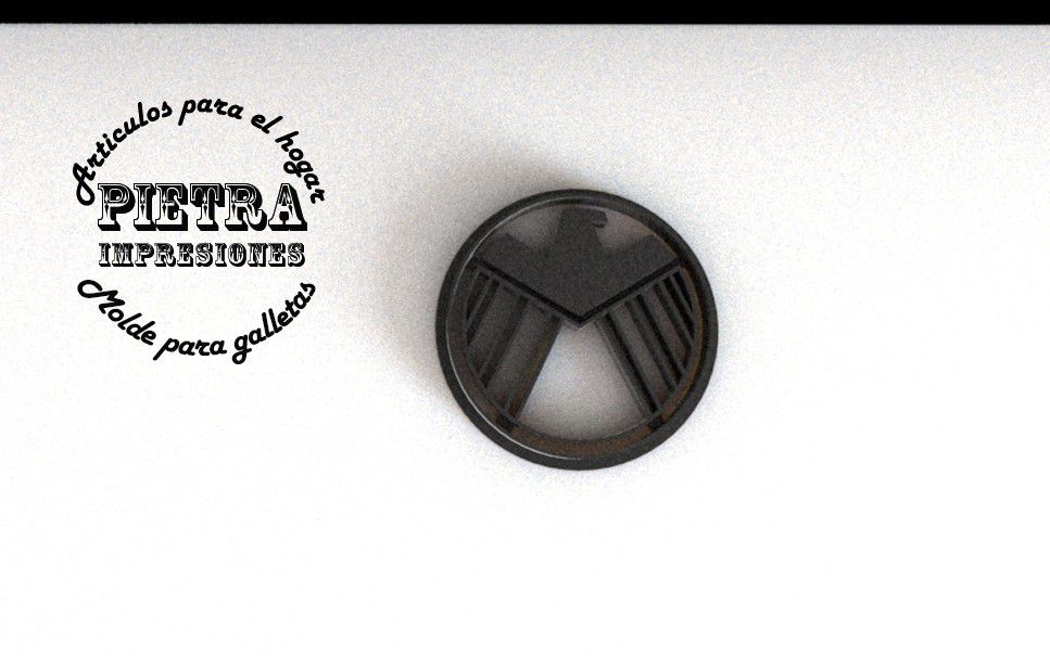 6.jpg Download STL file Avengers Cookie Cutter • 3D printing template, Gustavo015