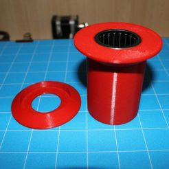 IMG_7516.JPG Download free STL file CR10/ENDER3 coil-to-bearing adapter • Object to 3D print, LOLO710
