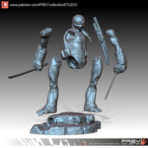 5.jpg Download free STL file LEO 1-10 scale • Object to 3D print, PREYcollectionSTUDIO