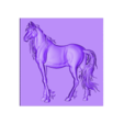 horse5.stl Download free STL file Eight horses • Design to 3D print, stlfilesfree