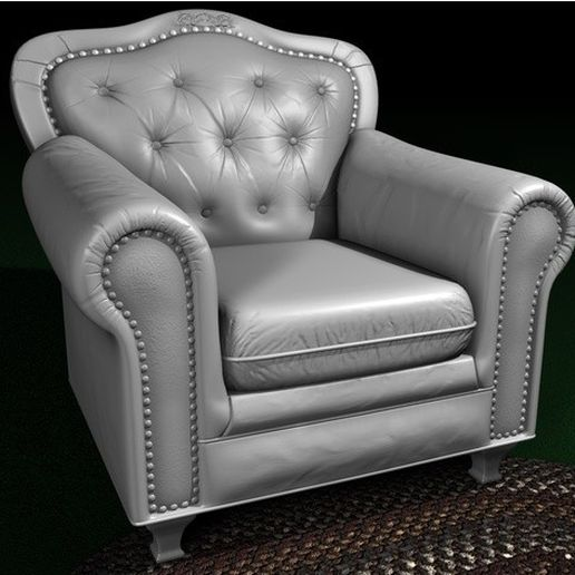 0bbe8b79ef356c2955ac360af7f9dc88_preview_featured.jpg Download STL file Leather chair • 3D print model, pumpkinhead3d