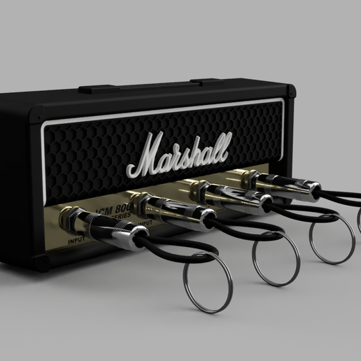 Marshall_JCM800_2019-Sep-30_12-36-19PM-000_CustomizedView9455741577.png Download free STL file Marshall Amplifier Style Keychain • 3D printable object, DaGoN