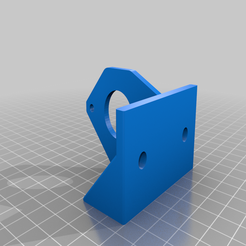 BMG_side_mount_V2_Widermount.png Download free STL file BMG Side Mount - 45° - Thicker mount • 3D print model, comradezoned