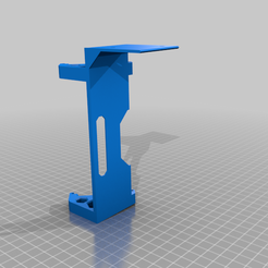 Prusa_LCD_sidemount.png Download free STL file Prusa LCD side mount • Template to 3D print, Sparhawk