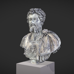 Capture d'écran 2017-11-13 à 14.37.16.png Download free OBJ file Bust of Septimius Severus • 3D print object, MSR