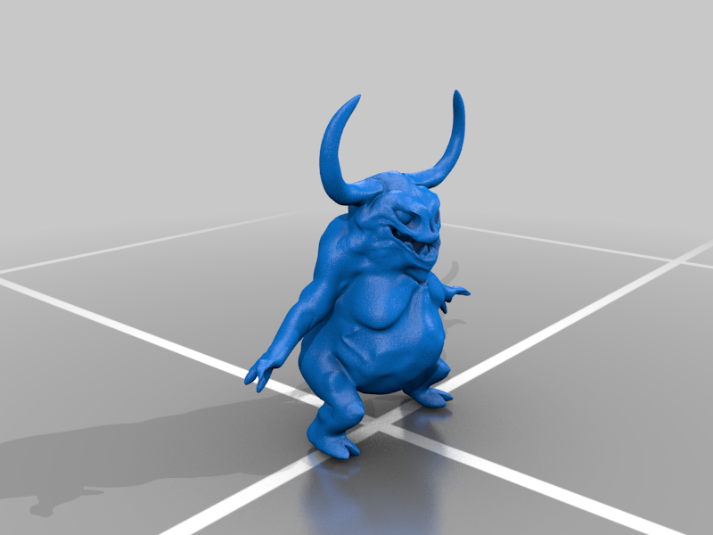 nurgling_11.png Download free OBJ file Adorable little fat rotting horned swarmy things • 3D printing design, gepardowaty
