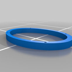 6x9_Spacer.png Download free SCAD file 6x9 Speaker Spacer • 3D printer object, jonbourg