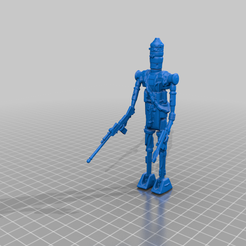 IG88onepeice.png Download free STL file IG-88 Kenner Action Figure - Test 3D Scan • 3D printer model, BigMrTong