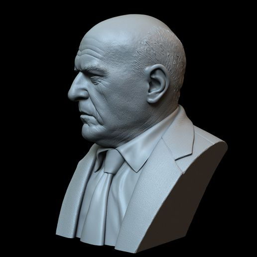 Hank04.RGB_color.jpg Download STL file Hank Schrader (Dean Norris) from Breaking Bad • Template to 3D print, sidnaique