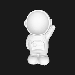 astronaut00.png Download free STL file Astronaut(generated by revopoint POP) • 3D printer template, Revopoint3D