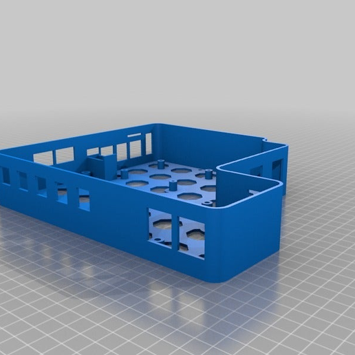 54abca4083b76e1831a1a7ee82920485.png Download free STL file Anet A8 Enclosure for MKS Gen 1.4, MOSFET, Raspberry Pi • 3D printable template, KerseyFabrications