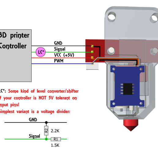 Wiring.png Download free STL file Tiny-Touch - Smallest possible DIY BLTouch clone • Model to 3D print, technikgegg