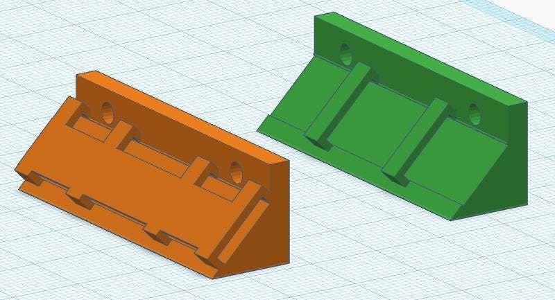 led0.jpg Download free STL file LED holder for Geeetech I3 Pro B • Object to 3D print, abojpc