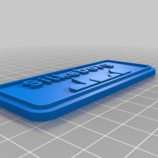 Silkeborg.png Download free SCAD file Byskilt (Danish Town Sign) • Object to 3D print, tamashi