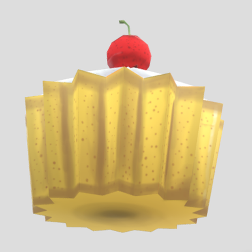 CubCake(Render)2.png Download free STL file Cup Cake stylized Low-poly • Model to 3D print, theworldentertainment