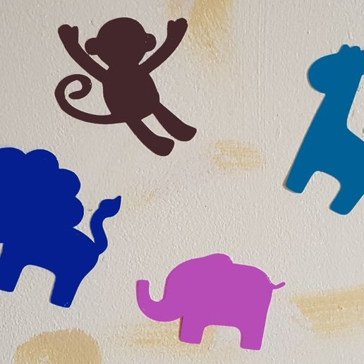 baby_animals_3dprintny.jpg Download free STL file Baby Animal Decals • 3D printer object, barb_3dprintny