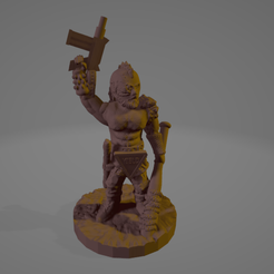Jacked Up Jethro.png Download STL file Jacked-Up Jethro (Support Free!) • 3D printer model, Ellie_Valkyrie