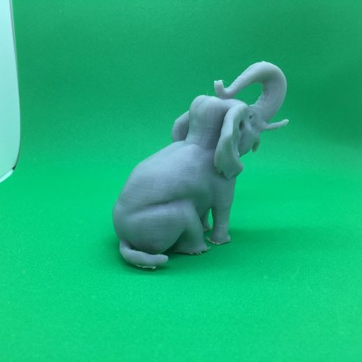 0a00d065c565b66cf2e9145b6c0f2329_display_large.JPG Download free OBJ file An Elephant in a Sitting Position • 3D print object, Pza4Rza