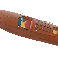 3.png Download free STL file RC Boat LUSIA 1952 • Template to 3D print, Printfully3d