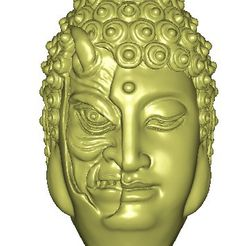 buddha demon1.jpg Download free STL file buddha and demon 3d model • 3D printing model, stlfilesfree