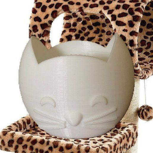 afea4bf608f837a9ef8390c4bc216e9c_preview_featured.jpg Download free STL file Cat Vessel • 3D printing design, Lucina