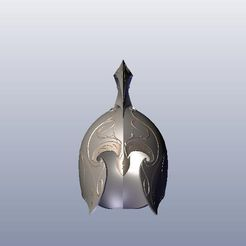 1.jpg Download STL file Rivendell Guard's Helmet • 3D printing object, 3Agraphic